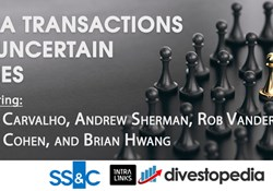 Webinar: M&A Transactions in Uncertain Times