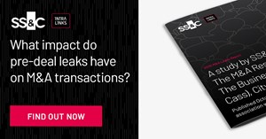 Image for 2020 SS&C Intralinks M&A Leaks Report