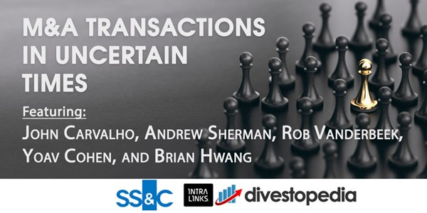 Image for Webinar: M&A Transactions in Uncertain Times