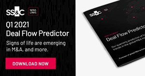 Image for SS&C Intralinks Deal Flow Predictor for Q1 2021